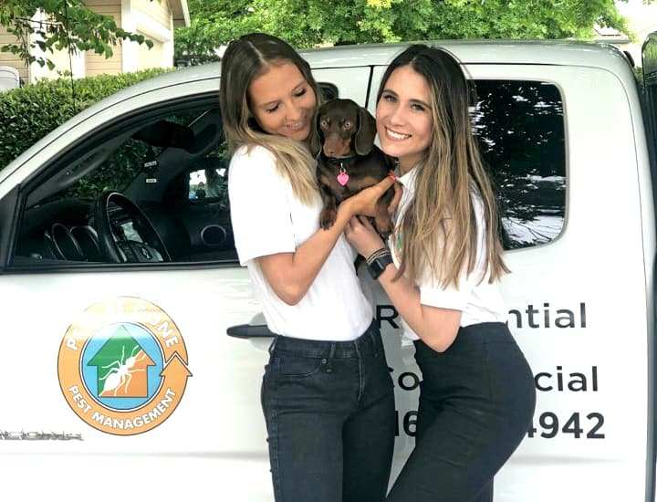 Pest Be Gone - Pest Control Staff with Dog